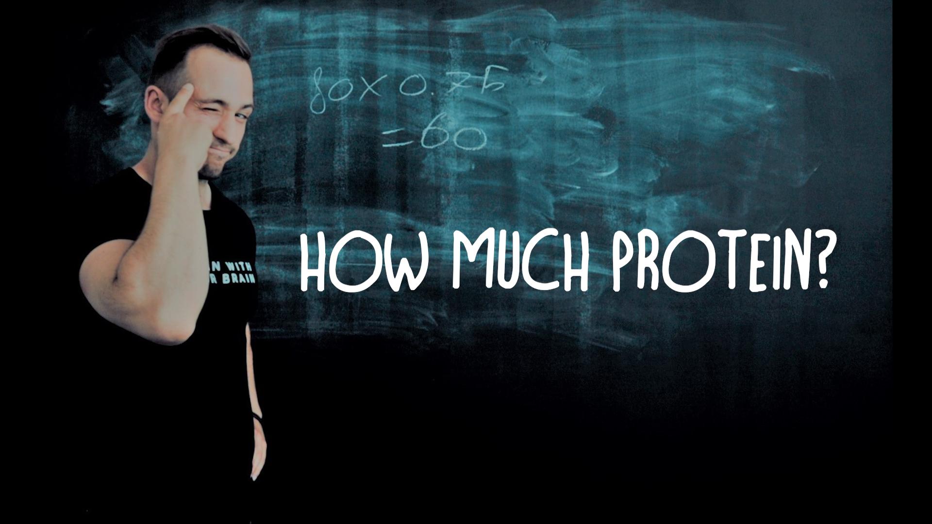 hoeveel proteine