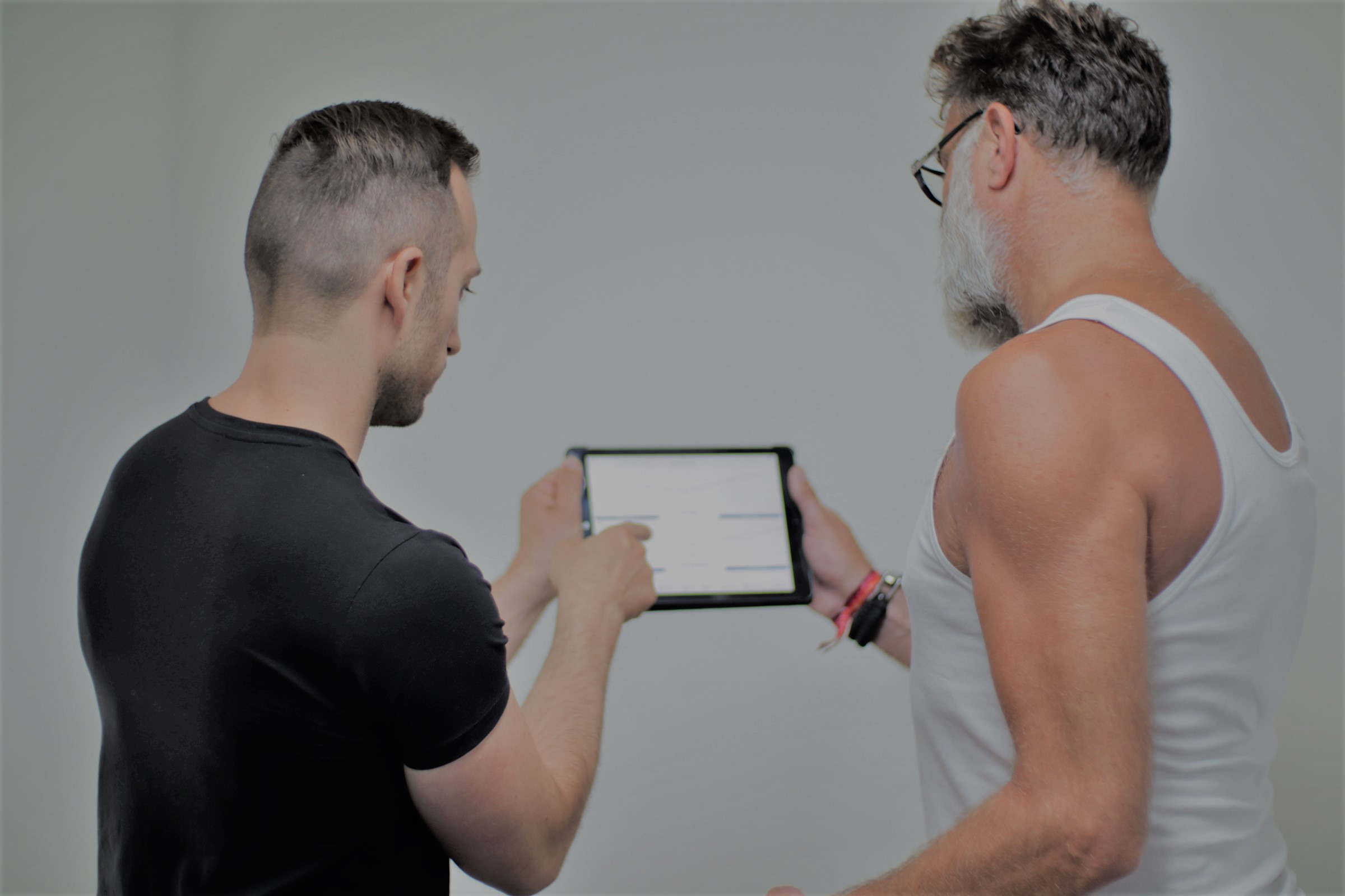 Nabespreken met trainer blanco